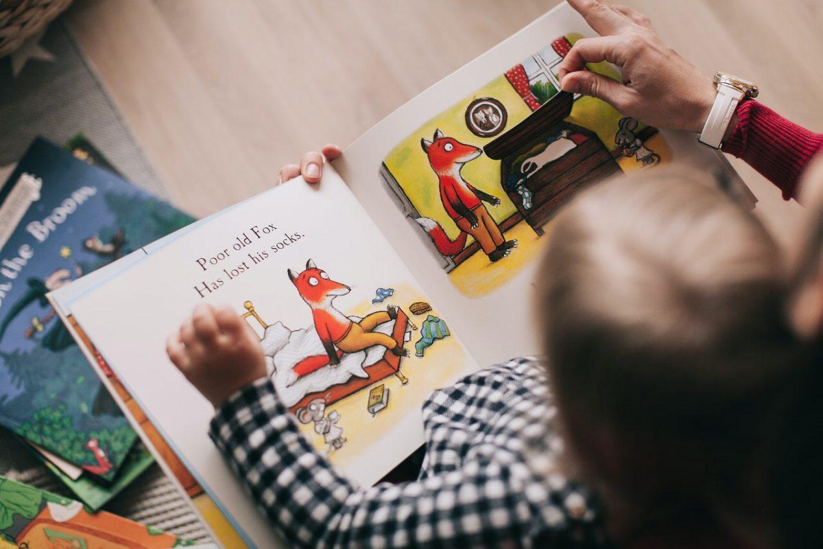 Bilderbücher, Basteln, Vorlesegeschichten